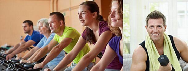 Training zuhause oder Studio © Robert Kneschke © nyul Fotolia.com